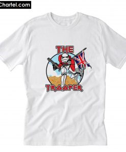 Trooper Star Wars Iron Maiden T-Shirt PU27