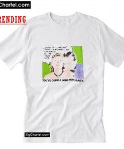 VTG 1980s Virginia Slims Cigarettes T Shirt PU27