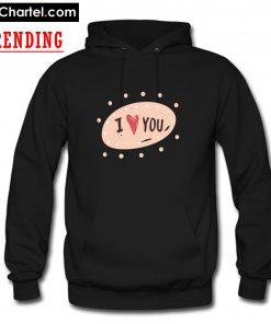 Valentines Day 2020 I love You Hoodie PU27
