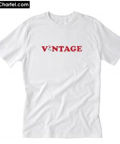 Vintage Classic And Trending Rose T-Shirt PU27