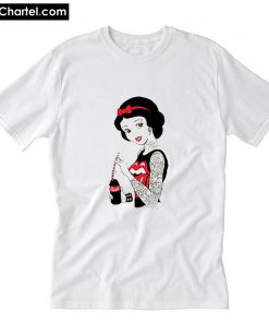 Vintage Funny Bad Girl Snow T-Shirt PU27