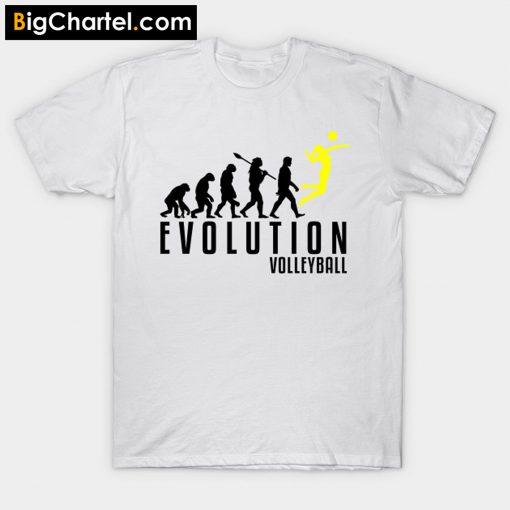 Volleyball Evolution T-Shirt PU27