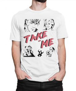 A-ha Take On Me 80's T-Shirt PU27