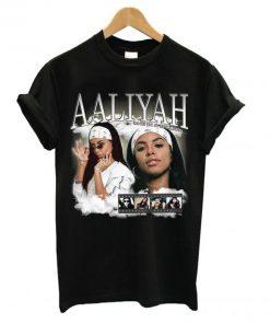 Aaliyah Homage T shirt PU27