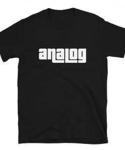 Analog DJ Music T-Shirt PU27