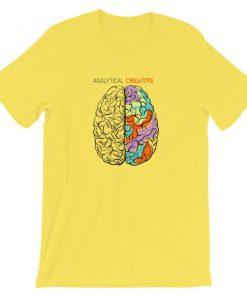 Analytical vs. Creative Left Brain vs. Right Brain T-Shirt PU27