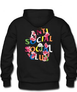 Anti Social Social Club Frantic Hoodie back PU27