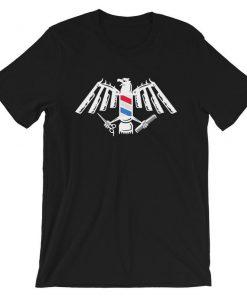 Barber Tools Eagle Emblem T-Shirt PU27