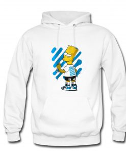 Bart Simpson Off White Urban Hoodie PU27