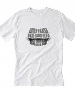 Big Boob Optical Illusion T-Shirt PU27