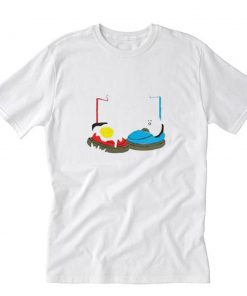 Bumper Car Egg T-Shirt PU27
