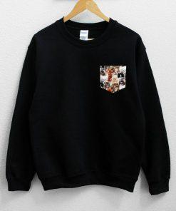 Cat Pocket Sweatshirt PU27