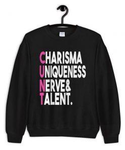 Charisma Uniqueness Nerve and Talent CUNT PU27