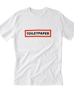 Toilet Paper Logo Box T-Shirt PU27