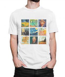 Vincent van Gogh Collage Art T-Shirt PU27
