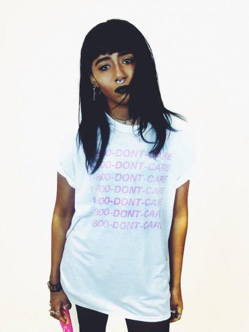 1-800 DONT CARE T Shirt PU27