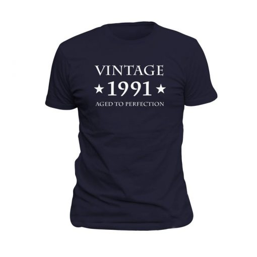 29th Birthday Gift Vintage 1991 T-Shirt PU27