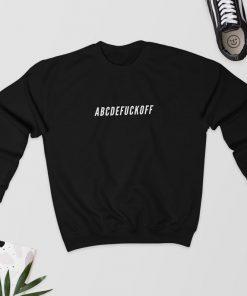 ABCDEFUCKOFF - Sweatshirt PU27