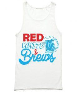 Red White & Brews Tank Top PU27