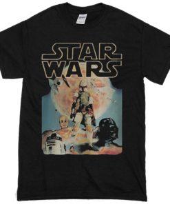 Vintage Star Wars T-Shirt PU27