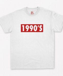 Vintage Style 1990s Nineties 90s T-Shirt PU27