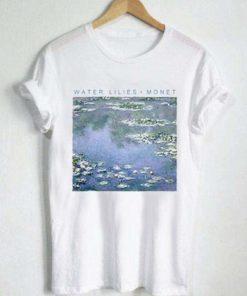 Water Lilies Monet T-Shirt PU27