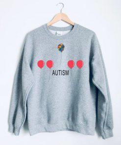 autism balloons Sweatshirt PU27
