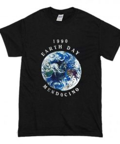 1990 Earth Day Mendocino T Shirt PU27