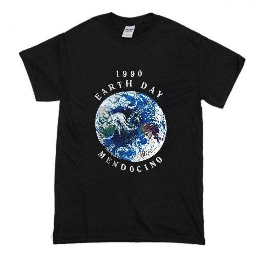 1990 Earth Day Mendocino T Shirt PU27