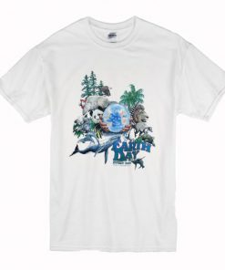 1990 Earth Day National Wildlife T-Shirt PU27