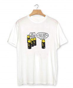 AA BATTERY FUNNY T-Shirt PU27