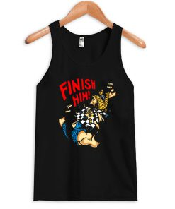 Mortal Combat Finish Him Tanktop PU27