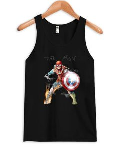 Stan Lee One With His Universe Tanktop PU27