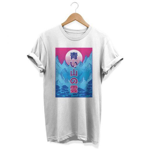 Vaporwave Anime T-Shirt PU27