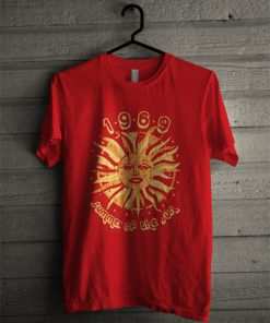 1969 Summer Of The Sun T-Shirt PU27