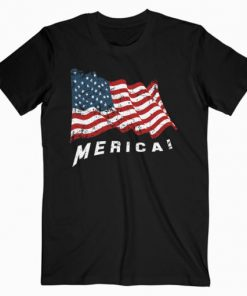 4th of July Independence Day US American Flag Patriotic T Shirt PU27