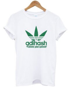 Adihash Rastafarian Gives You Speed T-Shirt PU27