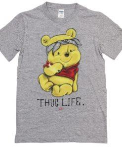 Winnie The Pooh Thug Life T-shirt PU27