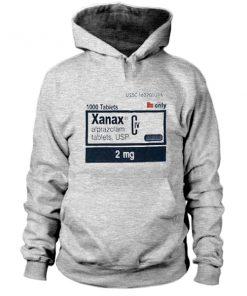 Xanax 2mg Hoodie PU27