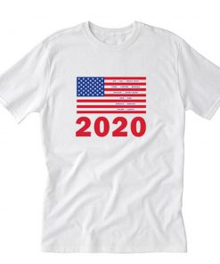 2020 We Have a Winner Kanye West T-Shirt PU27