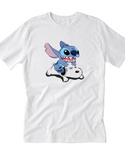 A Friend For Life Stitch And Snoopy T-Shirt PU27
