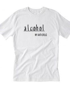 Alcohol Anti Drug Warning T-Shirt PU27