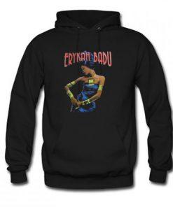 Erykah Badu Black Hoodie PU27