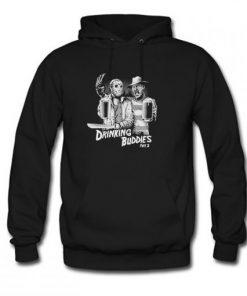 Freddy Krueger And Jason Drinking Buddies Hoodie PU27
