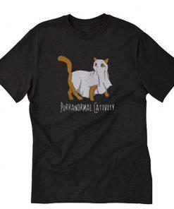 Purranormal Cativity Halloween T-Shirt PU27