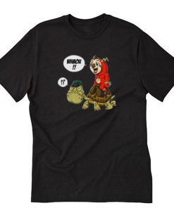 The Flash And Turtle T-Shirt PU27