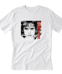 War U2 1983 T-Shirt PU27