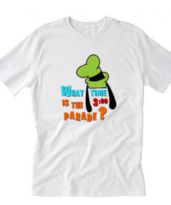 What Time Is The 3 O'clock T-Shirt PU27