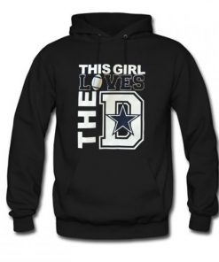 This girl loves the D Hoodie PU27