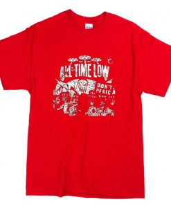 All Time Low Don't Panic T-Shirt PU27